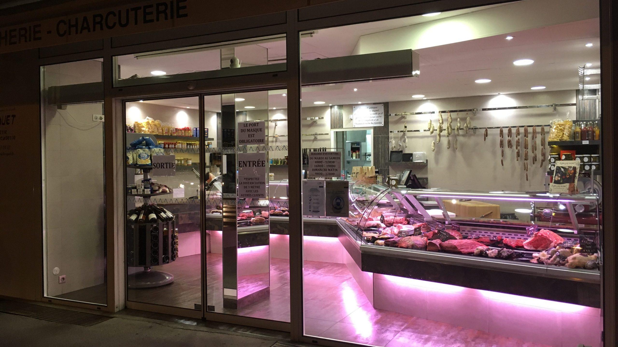 Boucherie Bocquet - Viandes saturées - Annecy